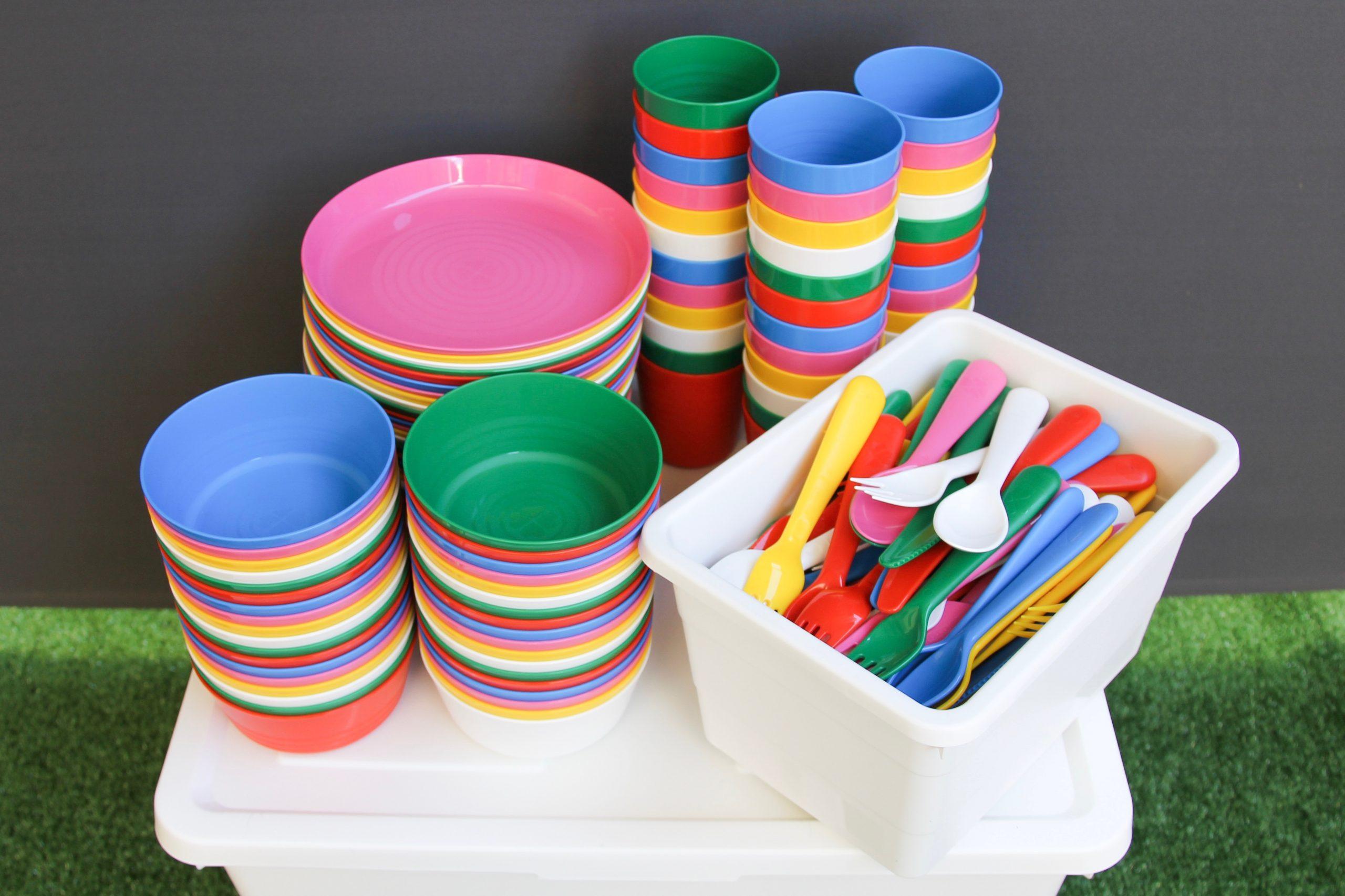 BT27B Bright Tableware Set