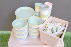 BT27P Pastel Tableware Set